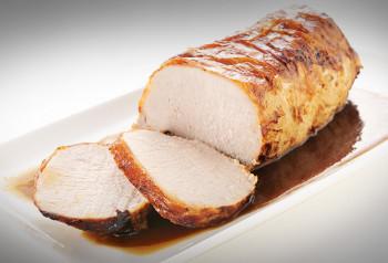 Rôti de porc filet cuit