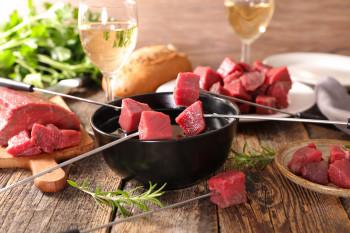 Viande pour fondue